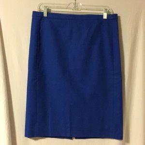 J. Crew Pencil Skirt - Royal Blue